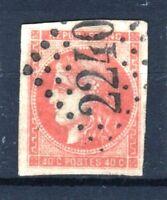 """FRANCE STAMP TIMBRE 48 """" CERES BORDEAUX 40c ORANGE 1870 """" OBLITERE TTB  R714"""