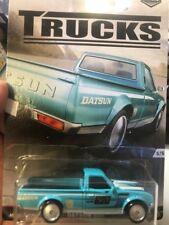 1/64 Hot Wheels 620 Datsun  Real Riders