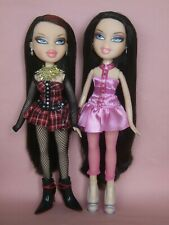 More details for htf bratz dolls twinznevaeh and peyton with all original clothes stunning dolls