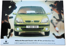 Renault Scenic Millionth. Press Release Photograph. March 2000