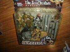 "Todd McFarlane's MONSTERS Series 2 ""The SEA CREATURE"" Playset 1998"