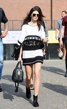 KENDALL JENNER PERSONALLY OWNED AND WORN DEEP GREEN, DESIGNER BELTED WRAP!