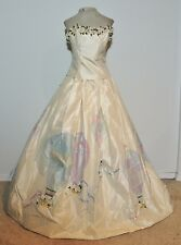 Wathne Hand Painted Hot Air Balloon Ball Gown / Wedding Gown / Prom Dress w- 29