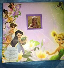 Disney Fairies Tinkerbell 12x12 Scrapbook Album W/ Clear Cover & 20 disney Pages