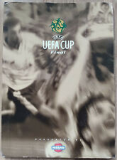 UEFA Cup Final 2000 Arsenal v Galatasaray ticket Press Pack folder menu + others
