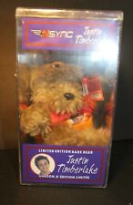 Collectable - Justin Timberlake - Nsync - Le Bear - 2000 - sealed in case