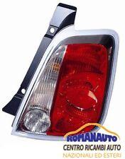 *FARO FANALE Posteriore SINISTRO FIAT NEW 500 da 2007 a 2015 FANALINO STOP SX