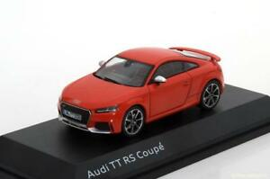 AUDI TT RS COUPE 2017 RED I-SCALE 501.16.104.31 1/43 ROUGE ROSSO ROT ISCALE LHD