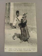 AK69, Ansichtskarte Postkarte: LIMONADEN-VERKÄUFER, Ägypten, LL 139, um 1910