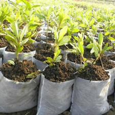 100pcs Non-Woven Nursery Tree Planting Bag Pots Garden Tool Supplies