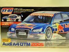 Tamiya Coche Rc Audi A4 DTM 2005 - 1:10 Kit Construcción sin Carrocería TT-01
