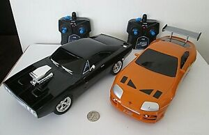 1:16 Fast & Furious Remote Control Cars Charger R/T Toyota Supra RC Turbo Boost