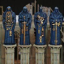 - 4 GOTHIC STATUES - sector imperialis column scenery sanctum grim warhammer 40k