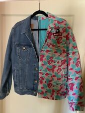 Bape x Levi's MIAMI EXCLUSIVE Split Camo Denim Trucker Jacket