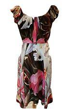 Vivienne Westwood Orquídea impresión Gipsy Vestido Talla 42 RRP £ 880 BNWT