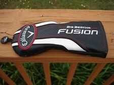 Callaway Golf FUSION Fairway Wood Head Cover (Tag No #) Free Shipping