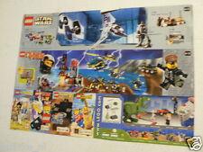 LEGO BROCHURE FLYER CATALOG TOYS MARS STAR WARS DUTCH 2 PAGES 039