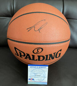 Luka Doncic Signed Nba Spalding Replica Game Basketball Psa/Dna Coa