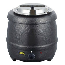 Buffalo Graphite Grey 10 Litre Soup Kettle @  Next Day Delivery