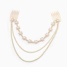 Alloy Chain Costume Hair & Head Jewellery