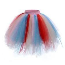 Damen Tanzbekleidung Tüll Tutu Rock Petticoat Pettirock Prinzessin Mädchen