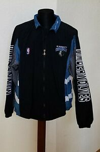 Minnesota Timberwolves NBA Basketball Champion Jacket Size Large