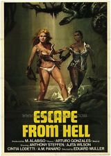 ESCAPE FROM HELL Movie POSTER 27x40