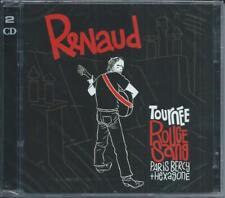 2 CD Renaud  Tournée Rouge Sang Paris Bercy + Hexagone Neuf sous cellophane
