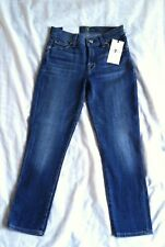 New 7 For All Mankind The Capri Super Skinny women's jeans Sz 24x23 MSRP