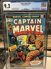 Captain Marvel #26 cgc 9.2 May 1973 2nd Thanos