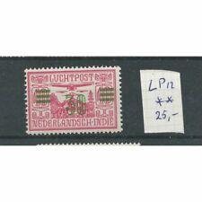 Ned. Indië LP12  Luchtpost  MNH/postrfris CV 25 €