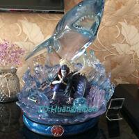 Naruto Hoshigaki Kisame Statue Shark GK Painted Led Light Model In Box In Stock