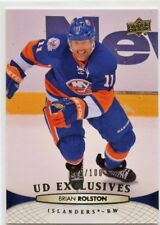 11/12 UPPER DECK EXCLUSIVES #339 BRIAN ROLSTON 086/100 ISLANDERS *46728