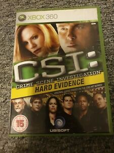 CSI: CRIME SCENE INVESTIGATION HARD EVIDENCE XBOX 360
