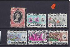 North Borneo QEII Used Collection