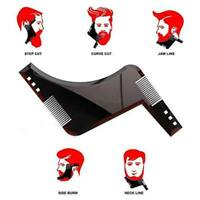 Beard Shaping Tool Template Kit For Men Styling Comb Lines Shaper Symmetry Trim