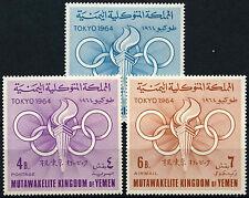 Yemen 1964 SG#R52-4 Olympic Games MNH Set #D33829