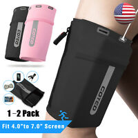 Sports Armband Phone Holder Arm Band Case Cover Bag Jogging Running Gym Cycling