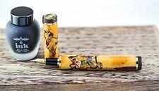 Sailor 5 Piece Bamboo Fountain Pen Set with Nagahara Cross Point Nib