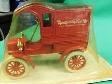 Ertl Montgomery Ward 1905 Ford's First Delivery Car Diecast Bank