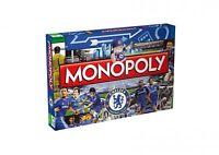 Monopoly Chelsea FC Edition Englisch Gesellschaftsspiel Brettspiel Spiel NEU