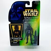 Vintage Kenner Star Wars Power of the Force TIE Fighter Pilot w/Imperial Blaster