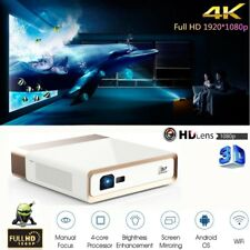 "KONKA High 10000 Lumens DLP Android 3D 4K Ultra HD Projector 300"" Wifi DLNA HDMI"