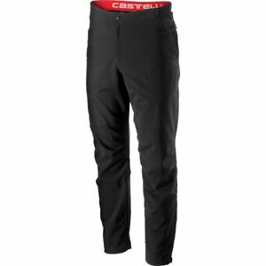Castelli Milano Pant Mens Casual Road Cycling Bottoms XS Black