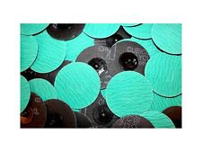 "Roloc Grinding Sanding Disc 3"" 80 Grit Premium Zirconia (ZA) 25pc  #717q25"