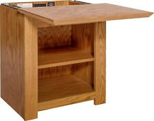 Hidden Compartment Nightstand- Diversion Safe- RFID Lock- Autumn Stain on Oak T1