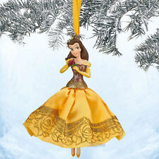 DISNEY PRINCESS BELLE SKETCHBOOK CHRISTMAS ORNAMENT 2014 BEAUTY AND THE BEAST