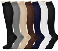 Compression Socks Pain Relief Calf Leg Foot Support Stocking S-XXXL Men & Women