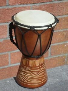 *  DJEMBE DRUM HANDMADE AND FAIRTRADE FROM INDIA ,