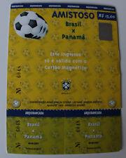 Ticket for collectors * Brasil Panama 2001 in Curitiba